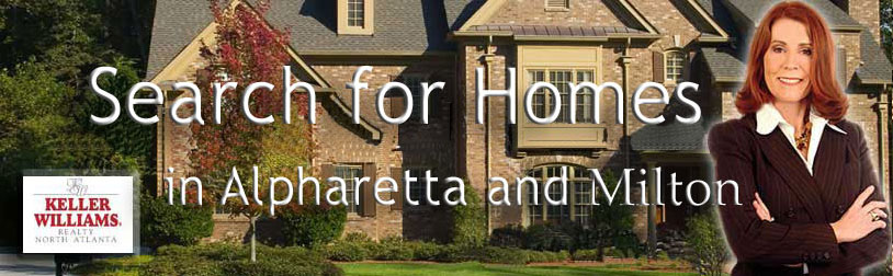 Search Alpharetta and Milton, Georgia Homes